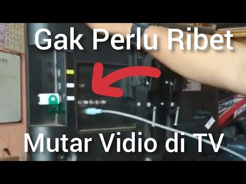 Putar Vidio TV LED Dengan Card Reader | Memory Card