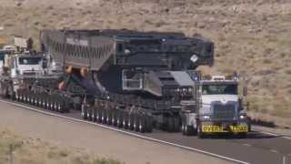 Suspended Move of four 400 ton retired generators from Southern CA to Clive UT