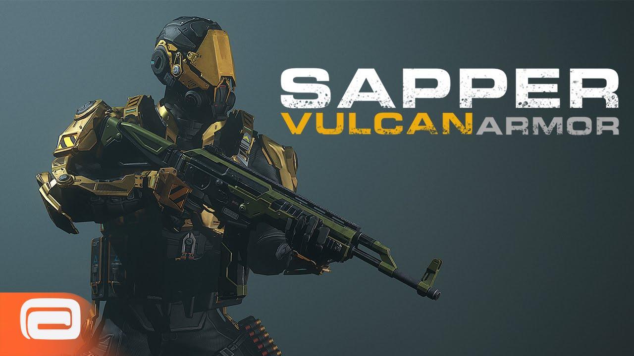modern combat 5 update 11 vulcan armour