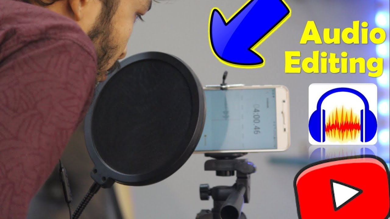 How to Record and Edit a Good and Beautiful audio | best audio editing software | record clear Voice