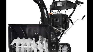 Снегоуборщик Hyundai S 7513 T Snow thrower Hyundai S 7513 T смотреть