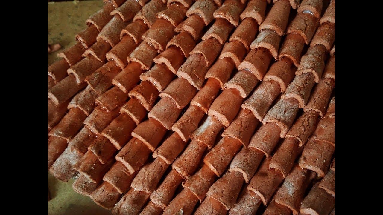 come realizzare delle tegole per il presepe con il DAS