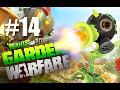 ТОКСИК! #14 Plants vs Zombies: Garden Warfare (HD) играем первыми