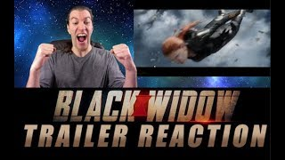 BLACK WIDOW TRAILER REACTION | This Looks Like The Movie Captain Marvel SHOULD Have Been
