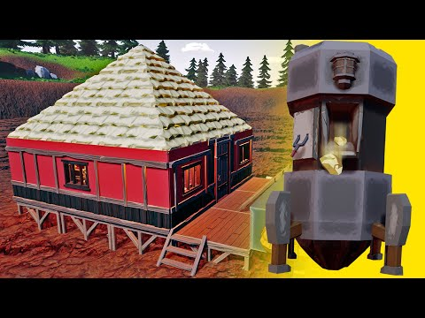 Building A Luxurious Goliath Drill Gold Mine - New Gold Mine Location - Hydroneer