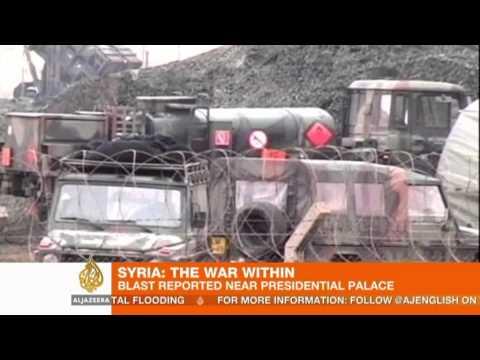 Blast near presidential palace in Damascus