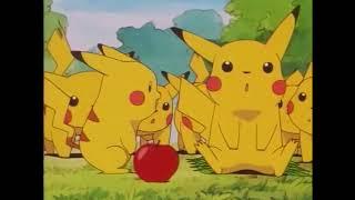 Pikachu's Goodbye but only saying Pikachu