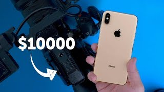 iPHONE XS против камеры за 600 000 рублей!