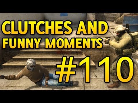 CS GO Funny Moments and Clutches #110 CSGO