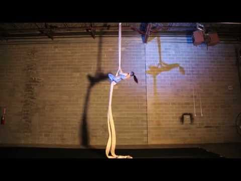 "Mrs Kara Jones - Aerial Fabric to ""Can't Kill Us"""