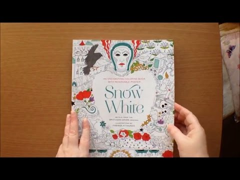 Snow White Colouring Book with Story and Poster by Fabiana Attanasio ...