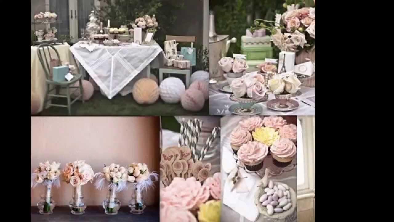Elegant Vintage Wedding Decoration Ideas