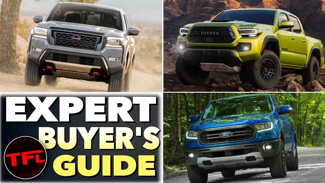 2022 Nissan Frontier vs. Tacoma vs. Ranger vs. Colorado: Here's How They Stack Up!