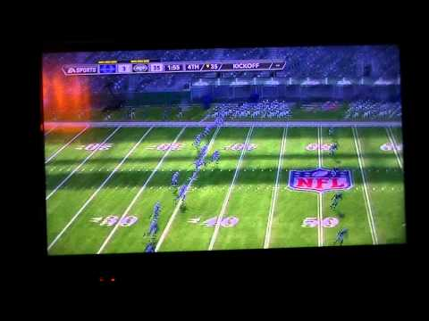 Madden 12 AFC WC January 4 2003 Colts vs Jets 3 of 3
