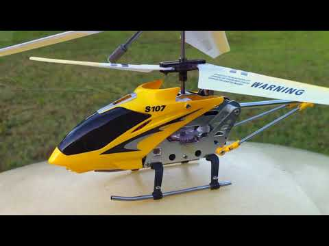 S107 helicopter blade problem