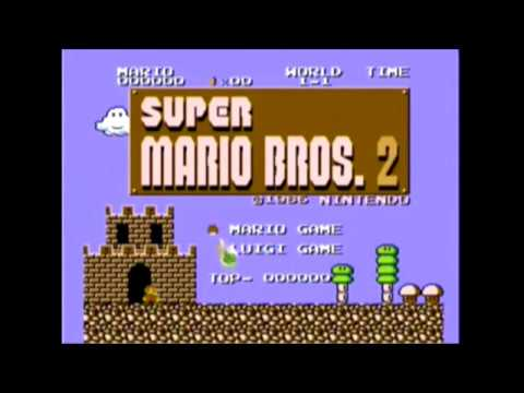 Descargar Super Mario Bros  2 (Japan) [NES] | Download