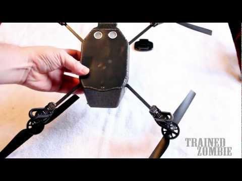 Mounting GoPro Hero3 on AR Drone by Parrot How To HACK MOD Modificationиз YouTube · Длительность: 1 мин9 с