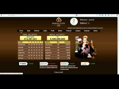 Cara Deposit PokerClub88 - YouTube