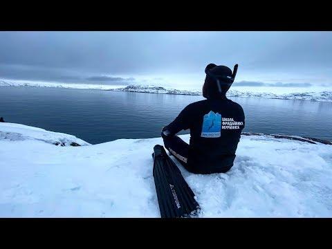Видео: Ныряем в Северном Ледовитом океане зимой! Саныч проверит отель Azimut 4 звёзды и шведский стол!