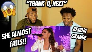Ariana Grande Thank U Next (World Premiere) The Ellen Show 2018 (REACTION)