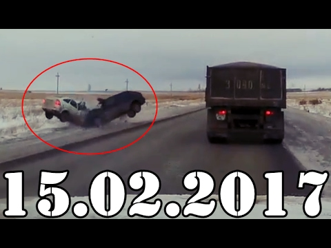 АВАРИИ и ДТП февраль 15.02.2017. Accidents Car Crash. #437