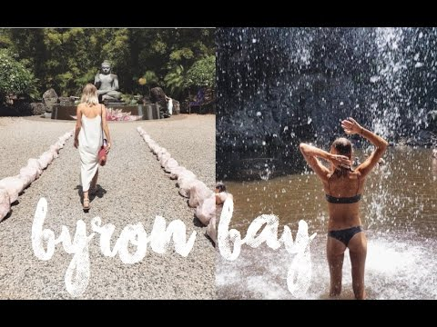 BYRON BAY| Waterfall, Farmers Market, Crystal Castle & Beaches