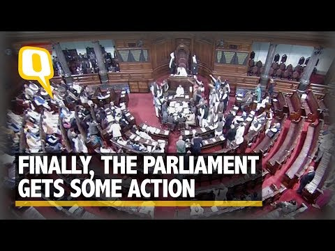 Winter Session of Parliament Begins: Lok Sabha Adjourned on Day 1 | The Quint