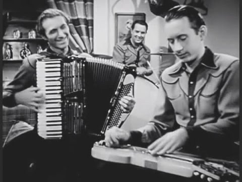 Joaquin Murphey steel guitar w Spade Cooley 1945 film  Patricia McMahon
