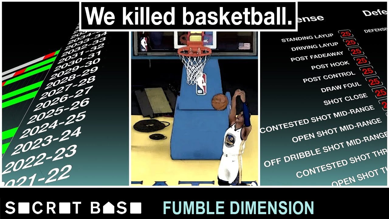 We destroyed the NBA's future with a video game   Fumble Dimension Episode 1