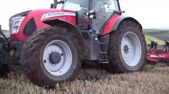 Changing a fuel filter on a mccormick cx95 tractor part 2 aka videos mccormick x7680 tractor with ovlac 5 furrow plough at kirriemuir publicscrutiny Gallery