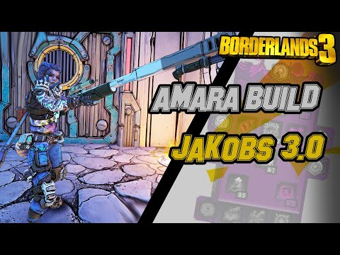AMARA JAKOBS 3.0 | BUILD MAYHEM 10, 11 | DIRECTOR'S CUT : BORDERLANDS 3!! |