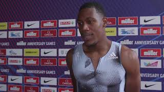 Gambar cover Muller Anniversary Games - Zharnel Hughes