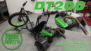 Drift Trike Performance Upgrades - Coleman DT200 ~ Mini Bike Monday?