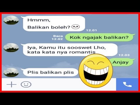 Prank Text Ke Mantan ~ Eh Ngajak balikkan Wkwkwkwk