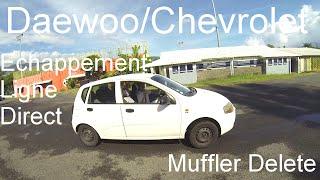 Daewoo/Chevrolet Kalos Echappement Ligne Direct