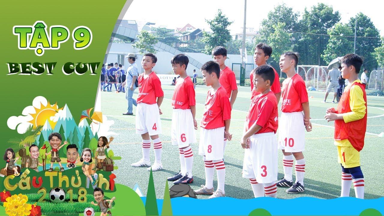 Hiệp 1: HLV Hồng Sơn căng thẳng khi cầu thủ nhí liên tục bị mất bóng | Best Cut Cầu Thủ Nhí 2018