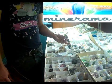 The Minerama Fossicking, Gem & Jewellery Show  Glen Innes  Australia  part 1