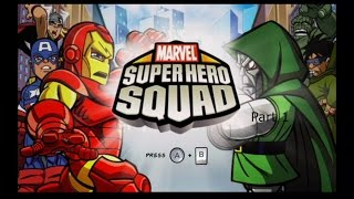 Marvel Super Hero Squad Wii Long Playthrough Part 1 - 1 / 3