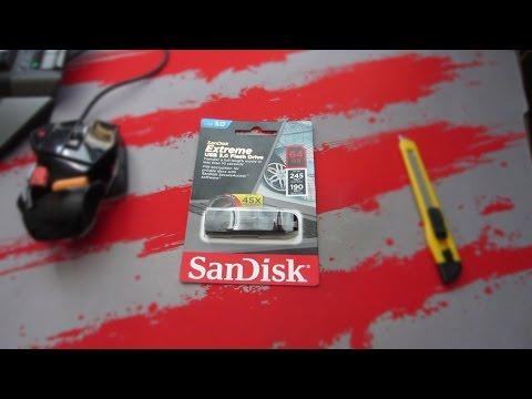 ОБЗОР SanDisk EXTREME USB 3.0 64GB