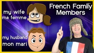 Learn French Family Members (basic French vocabulary with Jingle Jeff)