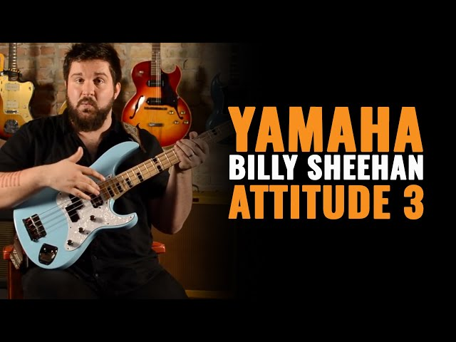 Yamaha Billy Sheehan Attitude 3 Limited Bass - Tech 21 VT Bass Pedal | CME Gear Demo