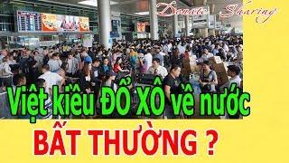 Việt kiều Đ.Ổ X.Ô về nước - B.Ấ.T THƯỜNG ?