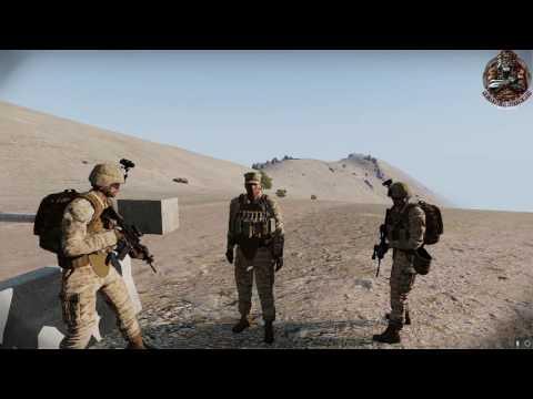 [GER] Arma 3 Operation Wüstenblume - Mission Lonewolf Teil 1 Bravo-Company