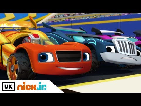 Blaze and the Monster Machines | The Hundred Mile Race | Nick Jr. UK