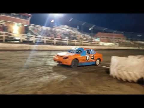 Macon speedway faster pastor race