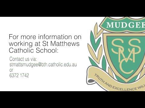 Working at St Matthews Catholic School, Mudgee