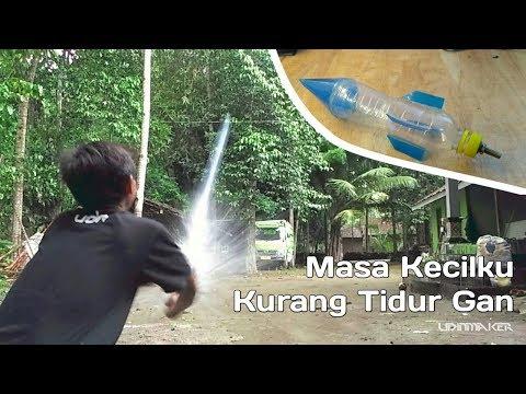 Simpel Roket Botol | Sesekali  Mainan Air Gan