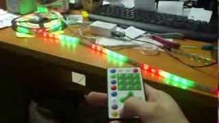 Светодиодная лента 5050 SMD 60 100 RGB IP65 Бегущая волна + контроллер(www.svetodiod96.ru., 2013-12-18T05:33:51.000Z)