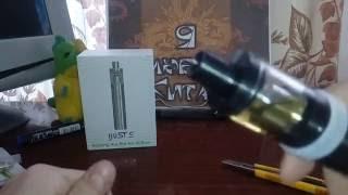 Виодеообзор и распаковка электронной сигареты iJust S черного цвета с Aliexpress