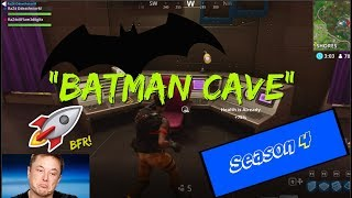 NEW SECRET LOCATION? THE BATMAN CAVE?? BFR | Fortnite| +How to get there!